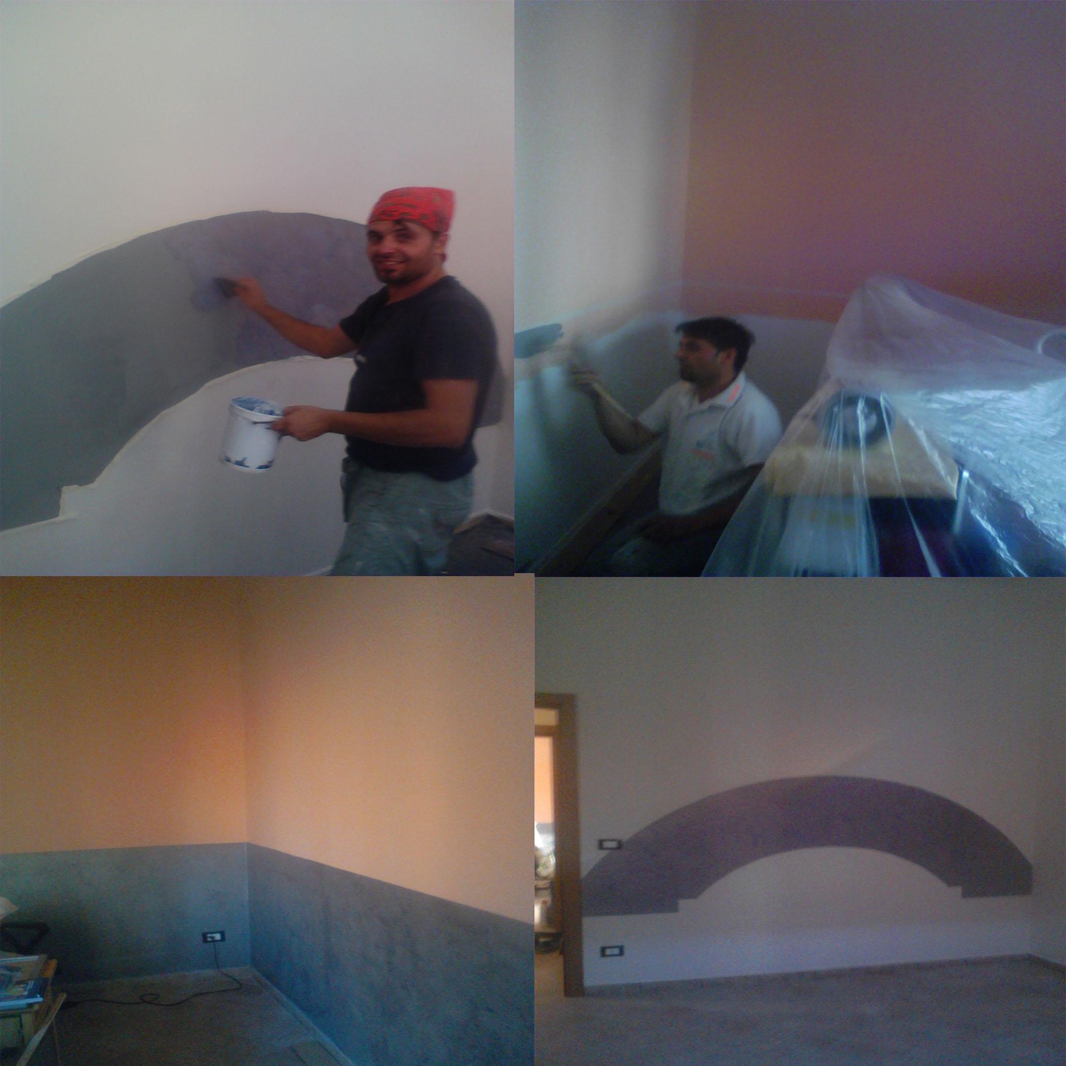 Decorazioni interni casa tecniche di pareti interne con pitture esterne e decorazione edifici - Decorazioni pareti esterne casa ...