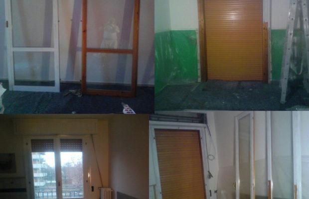 Verniciatura porte e finestre