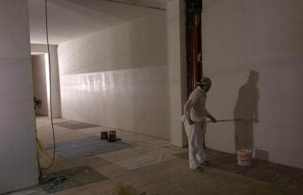 Tinteggiature da interno con smalto murale